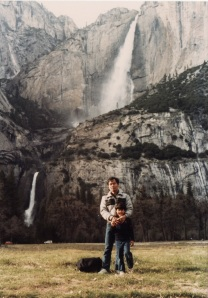 Dad in Yosemite