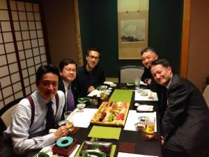 Tokyo Dinner 2014